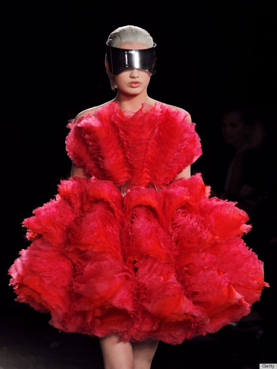 Hunger Games Fashion Gets A Serious Boost With Alexander McQueen PHOTOS HuffPost