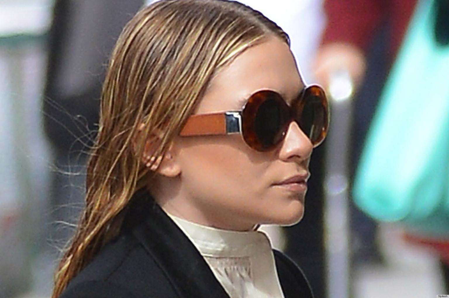 Is Ashley Olsens Wet Hair A Fashion Faux Pas PHOTOS
