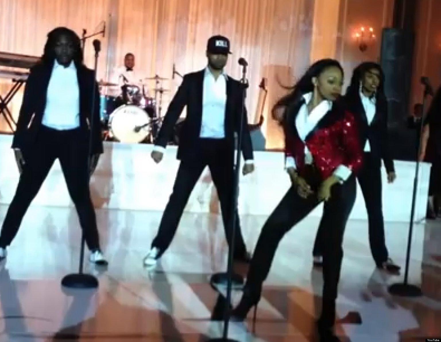 Beyonce Wedding Dance Bride Performs Beyonce Medley At
