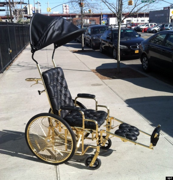 Lady Gaga Wheelchair