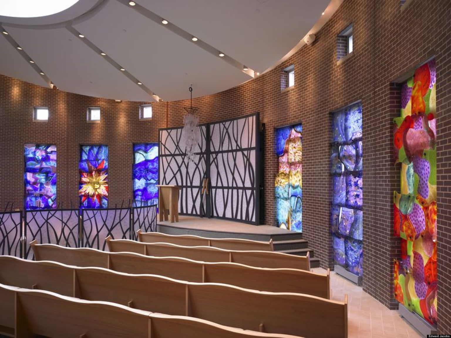 Synagogue Design Beyond Lions Tablets And Stars Of David