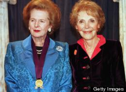 Nancy Reagan Margaret Thatcher