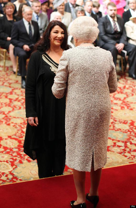 Kate Bush At Buckingham Palace