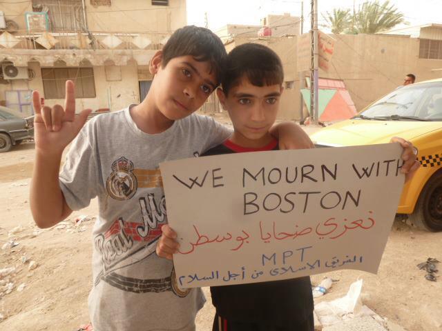 iraq children boston