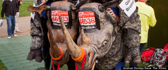 London Marathon Rhino Runner
