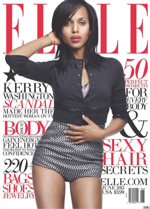 kerry washington elle
