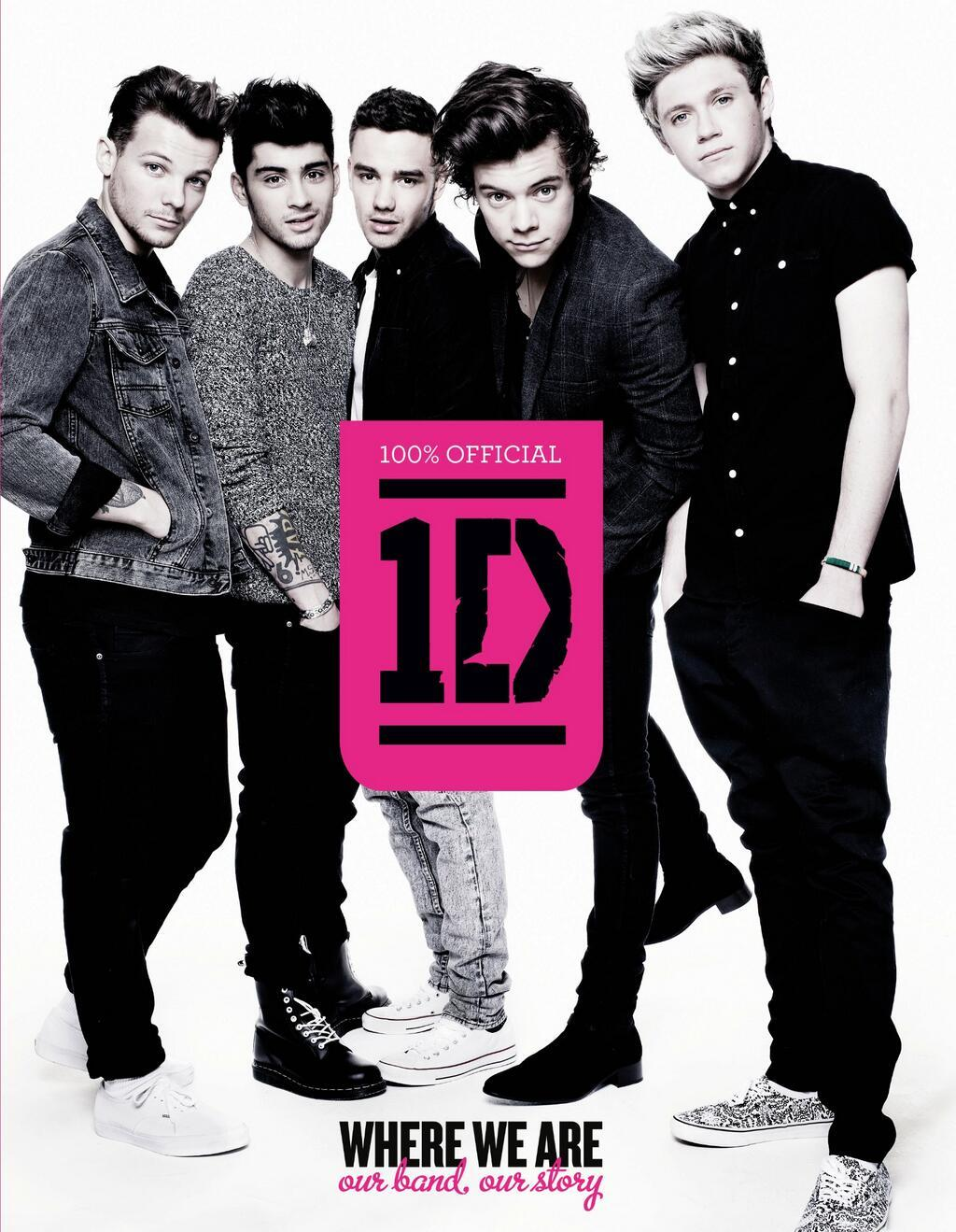 One Direction Official Book Where We Are Our Band Our