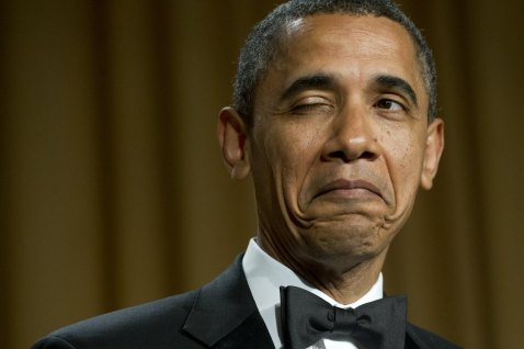 CONSPIRACY (CONFEDERACY?) OF DUNCES; OBAMA AND HOLLANDE PUT ON COMEDY SKIT AND DEGRADE THEMSELVES 2