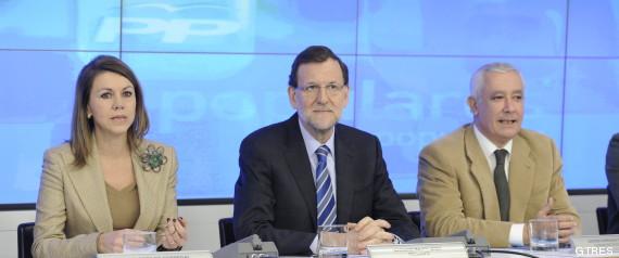 Rajoy convoca a la cúpula del PP con Bárcenas entre rejas y tras nuevos 'recados' de Aznar