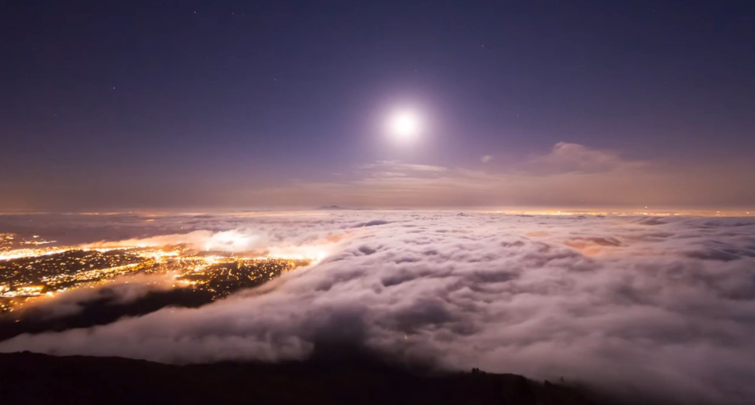 San Francisco Time Lapse Video Makes Fog Look Utterly Magical