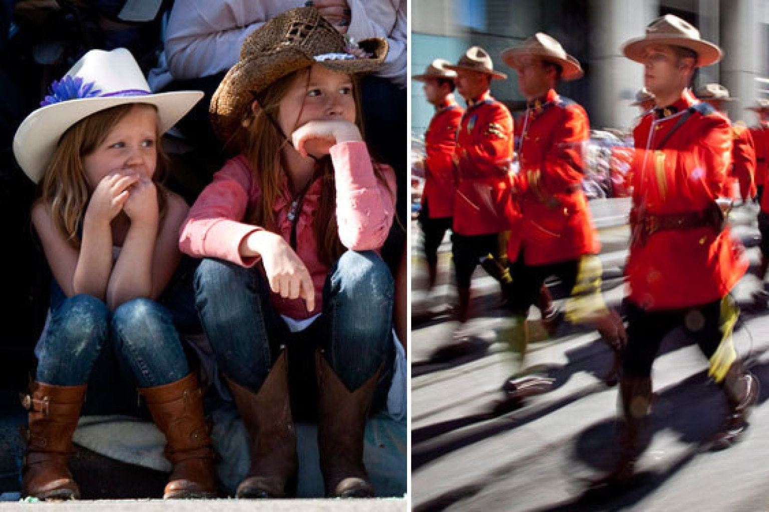Calgary Stampede Parade 2013 Kicks Off 101 Years Of
