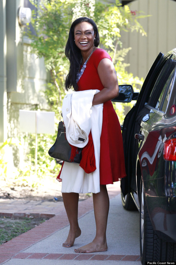 Tatyana Ali Photos Actress Looks Beautiful In Red Dress