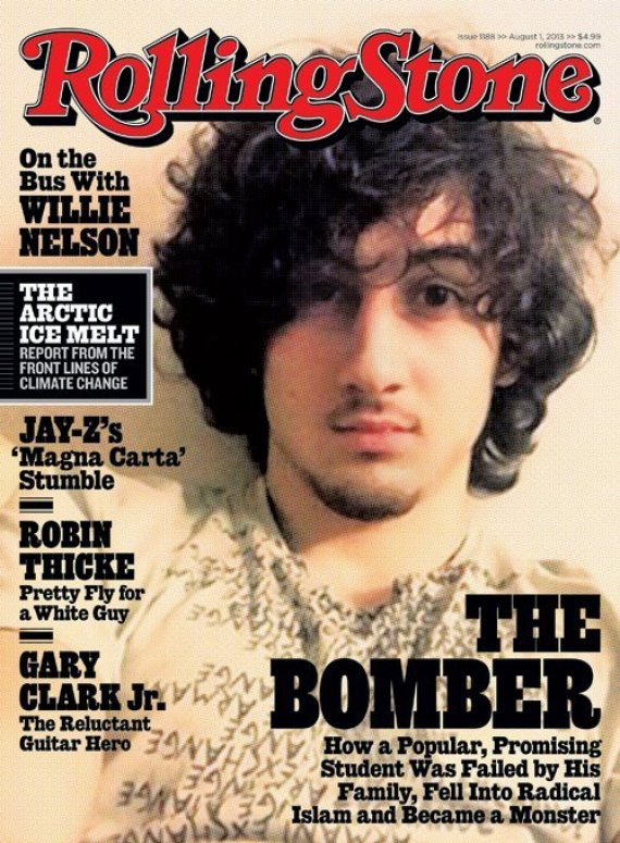 Rolling Stone Cover of Dzhokar Tsarnaev