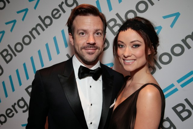 Image result for jason sudeikis and olivia wilde