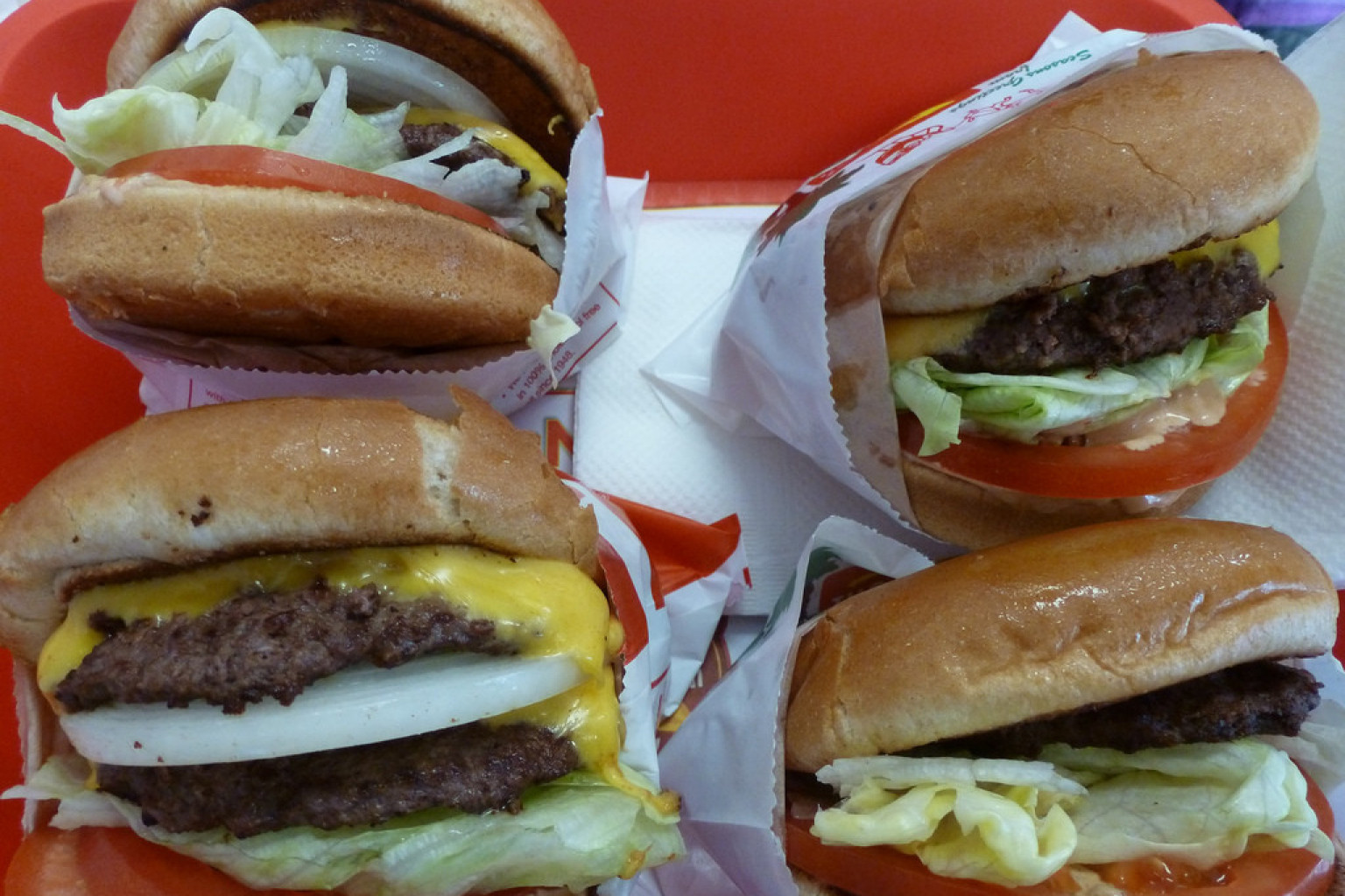 The Best Fast Food Burger A Huffpostmatch