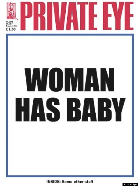 The Royal Baby Publicity