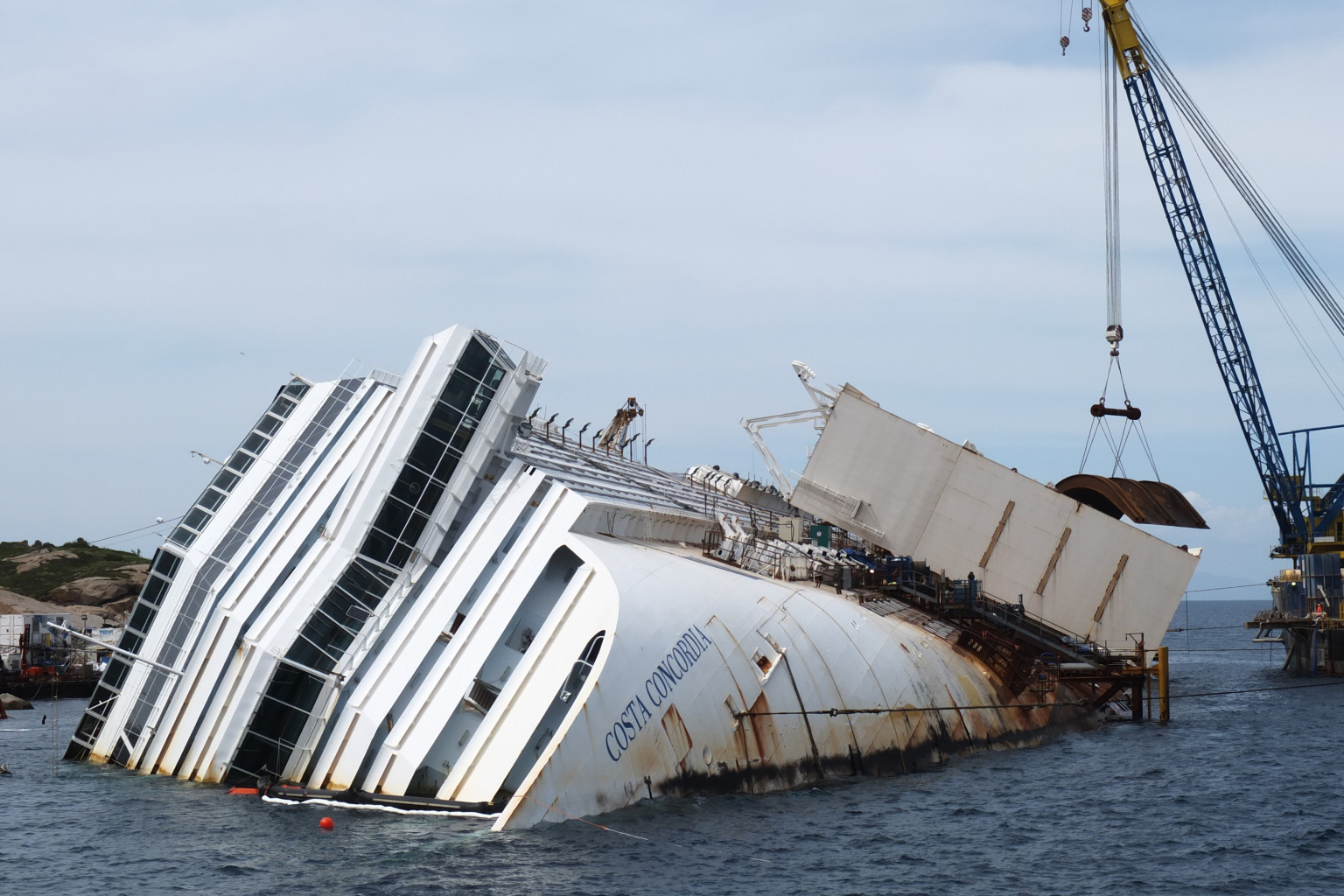 Costa Concordia Wreckage To Be Raised In September As