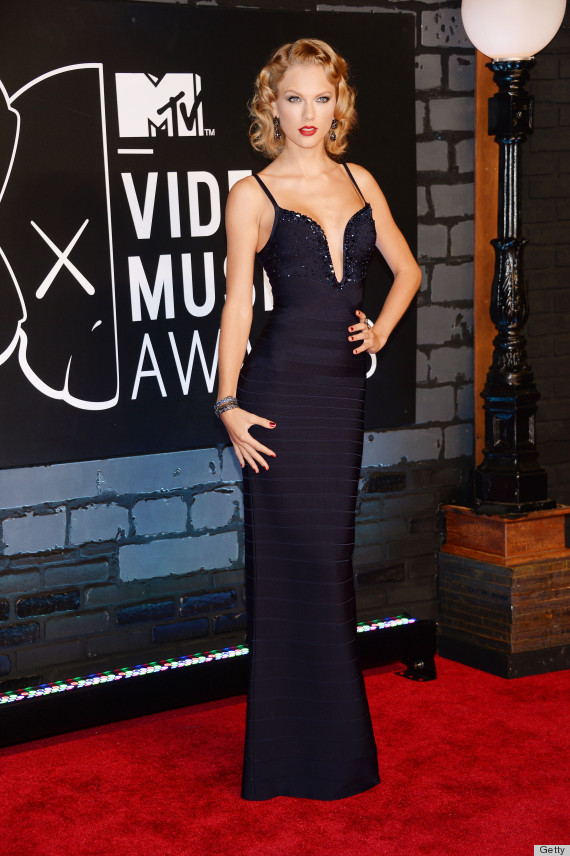 346063afea Taylor Swift in Herve Leger by Max Azria