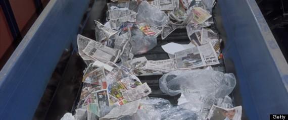bank robber garbage chute