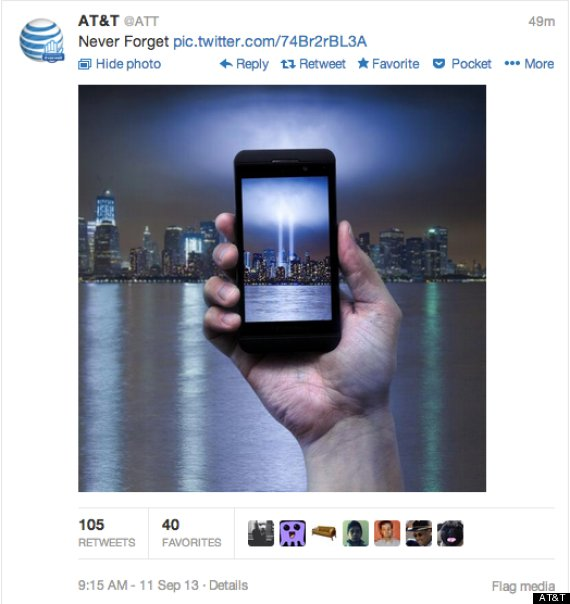 AT&T 9/11 Advertisement