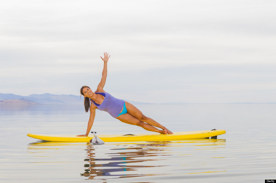 Image result for stand up paddle boarding yoga