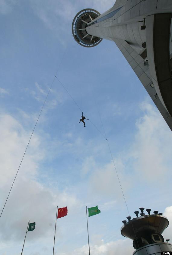 macau tower jump