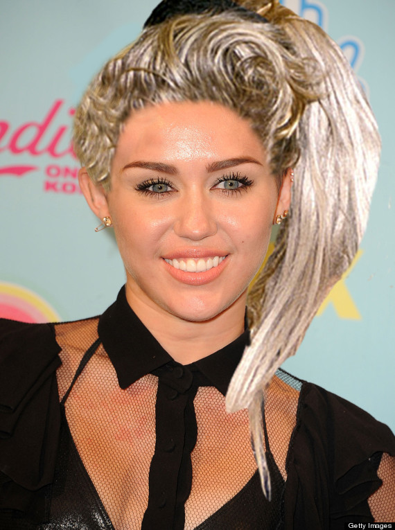 Famous Celebrity Hairstyles Miley Cyrus Should Definitely