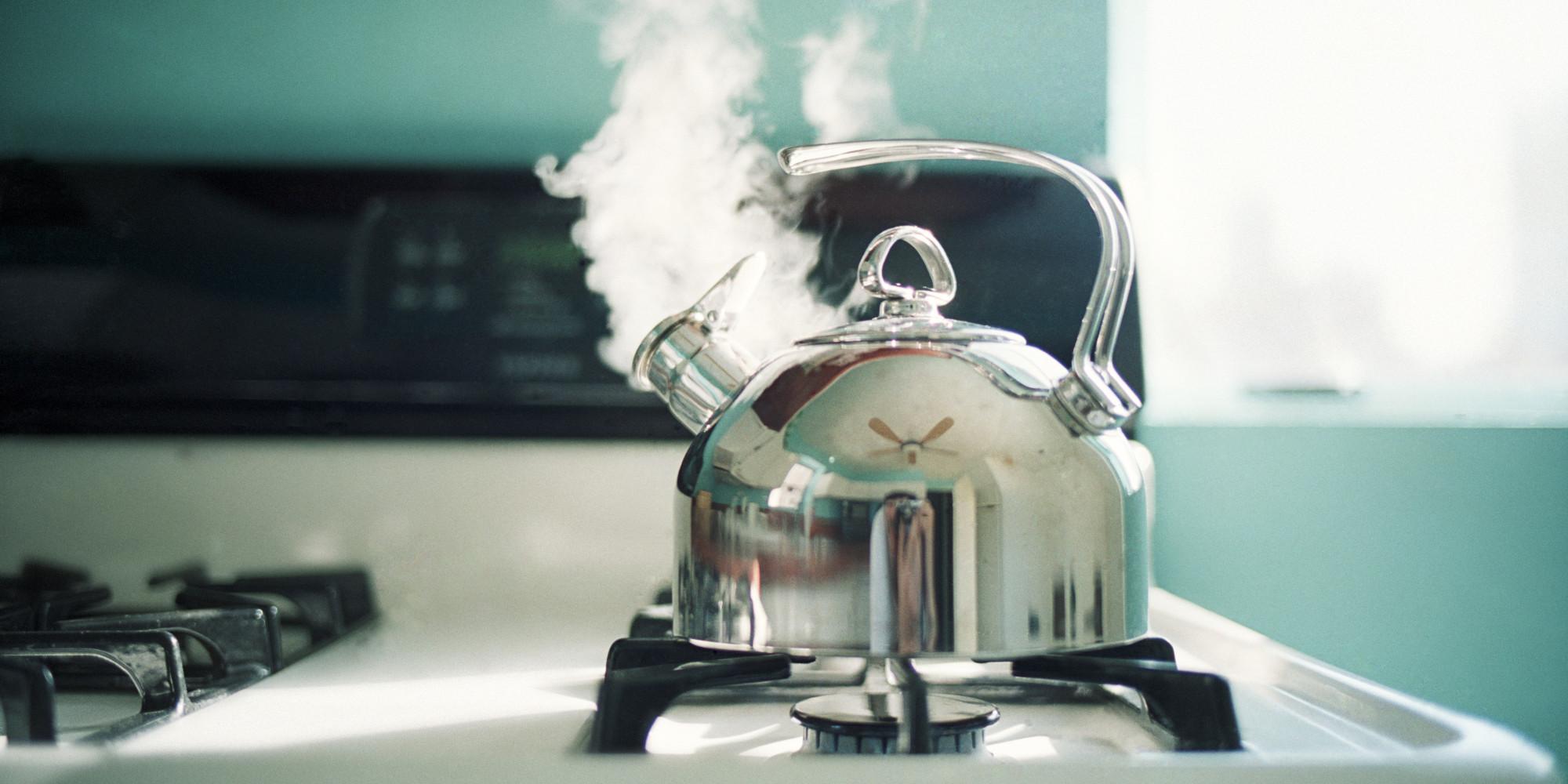 Image result for whistling kettle boiling