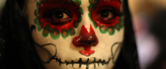 skeleton lady day of the dead