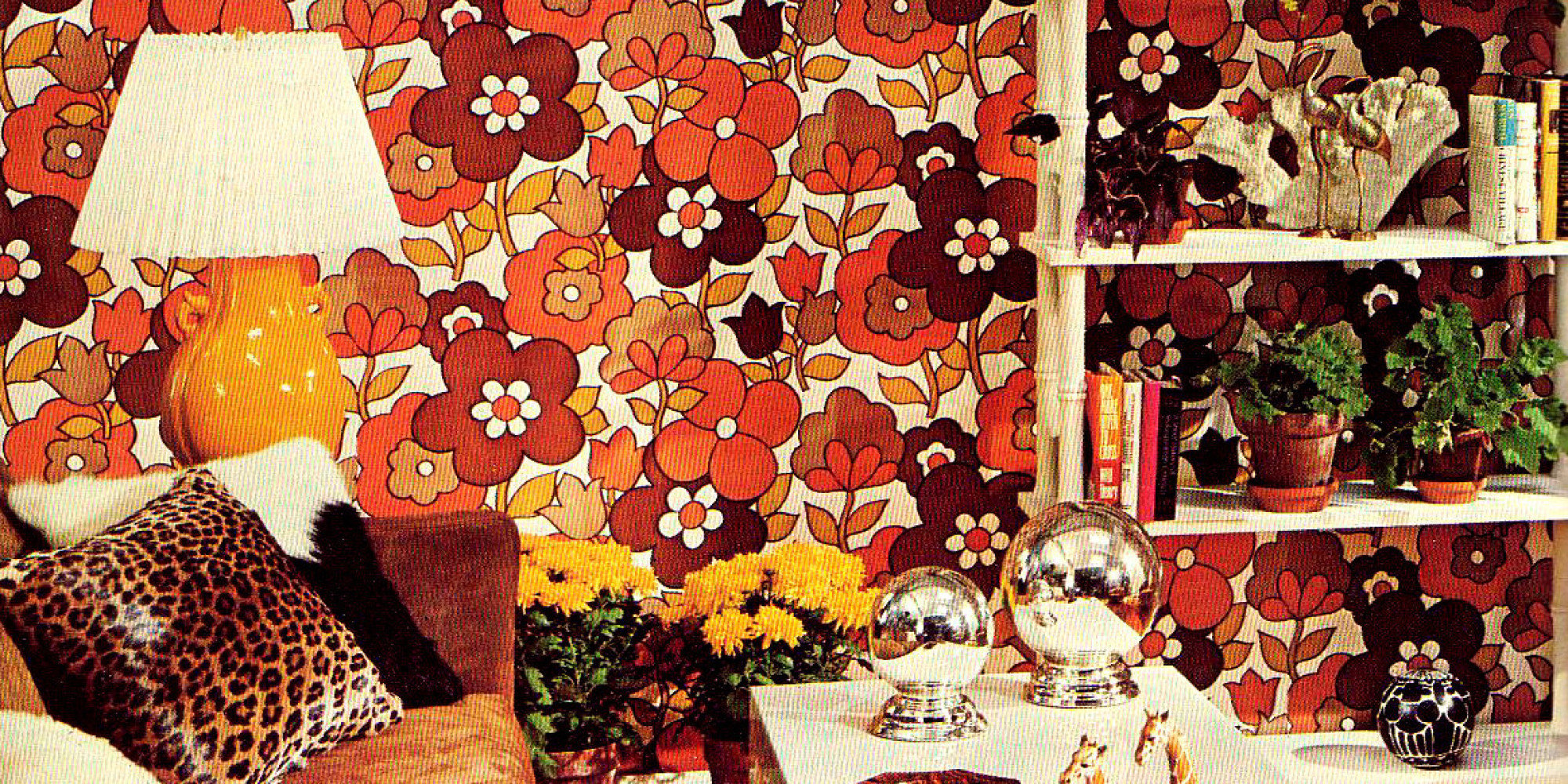 This Wallpaper From The 60s And 70s Will Make You Want