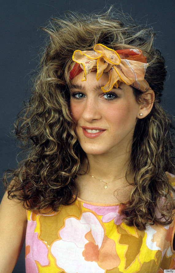 80s Hair That Is So Bad It s Good  PHOTOS    HuffPost sarah jessica parker