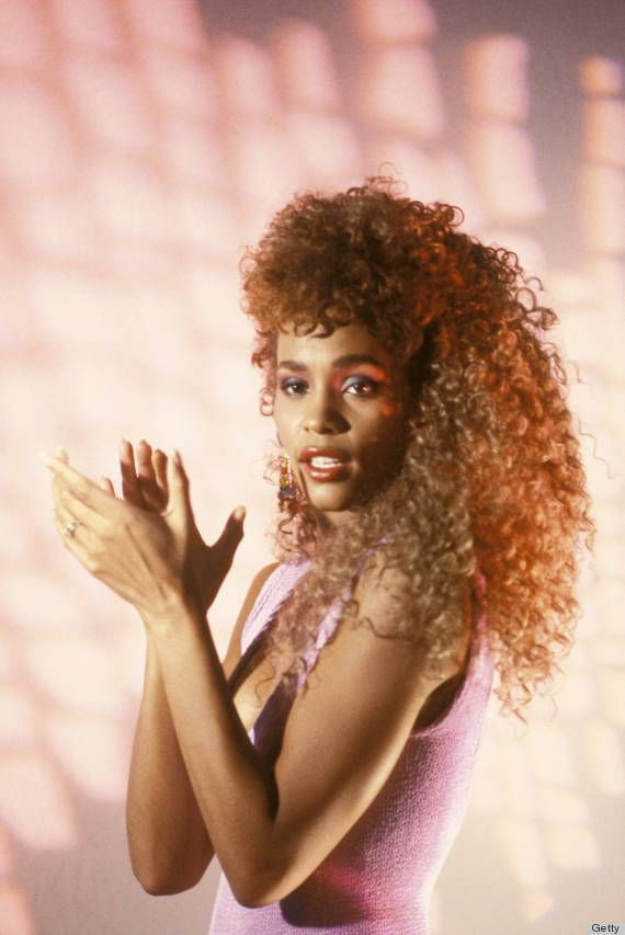 80s Hair That Is So Bad It s Good  PHOTOS    HuffPost whitney houston
