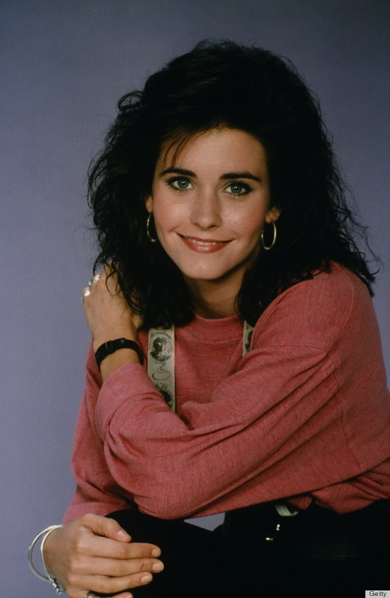 80s Hair That Is So Bad It s Good  PHOTOS    HuffPost courteney cox