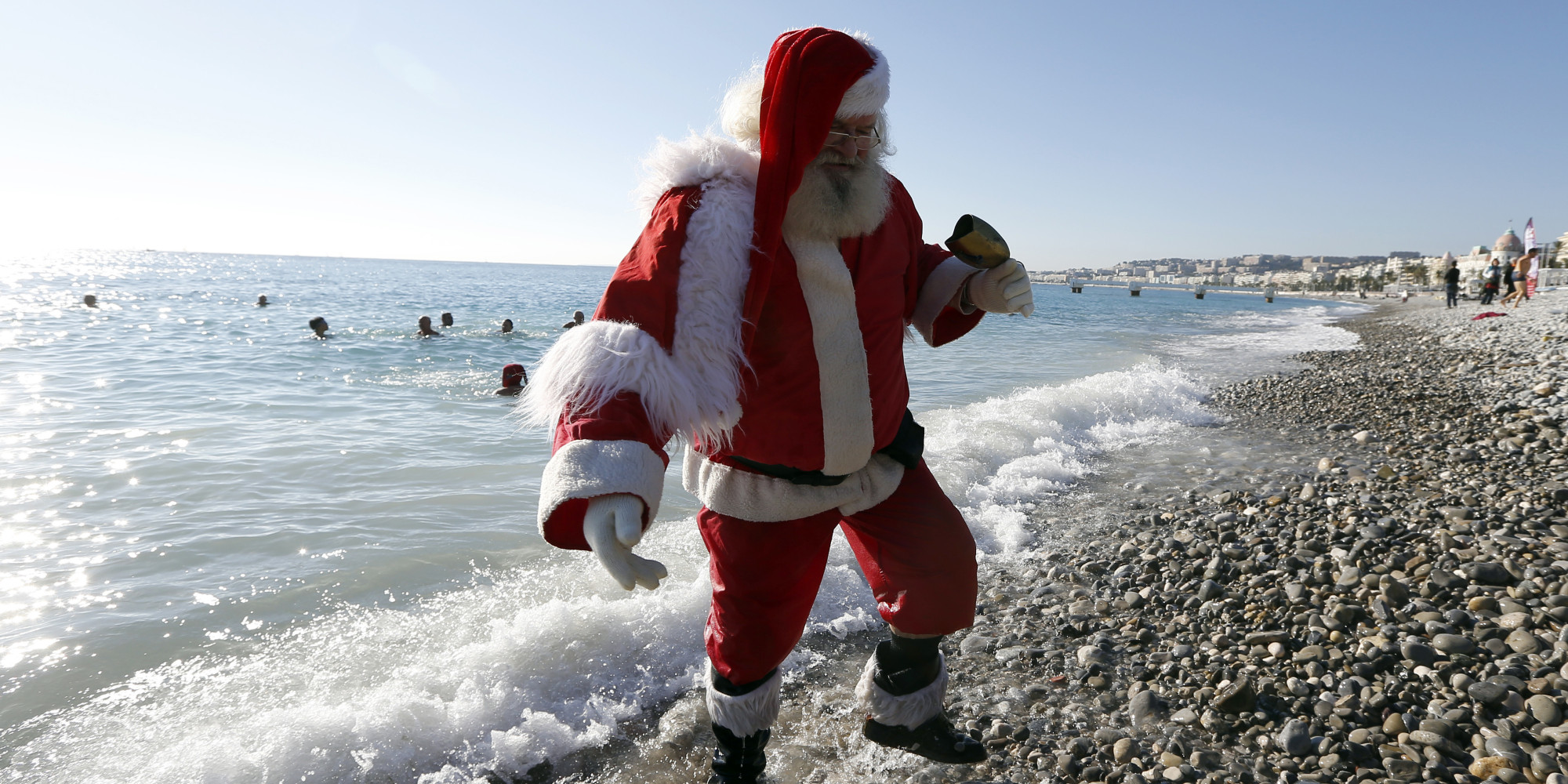 Penguins, Sufis And Santa At The Beach: The Week In Photos ... (2000 x 1000 Pixel)