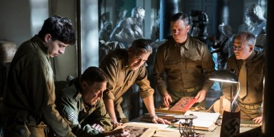 The Monuments Men features an all-star cast