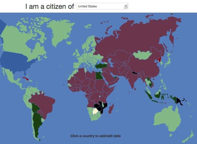 VisaMapper App