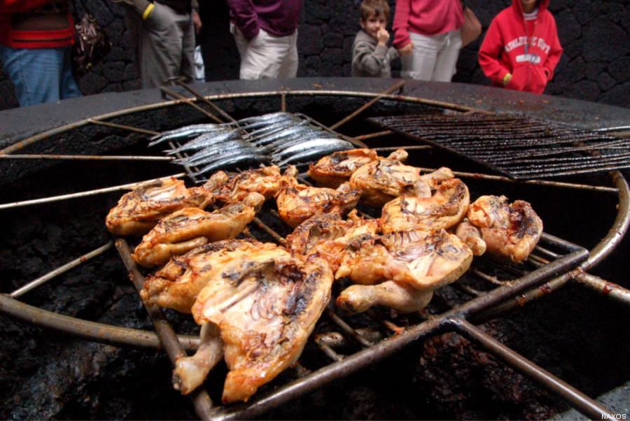 pollo timanfaya