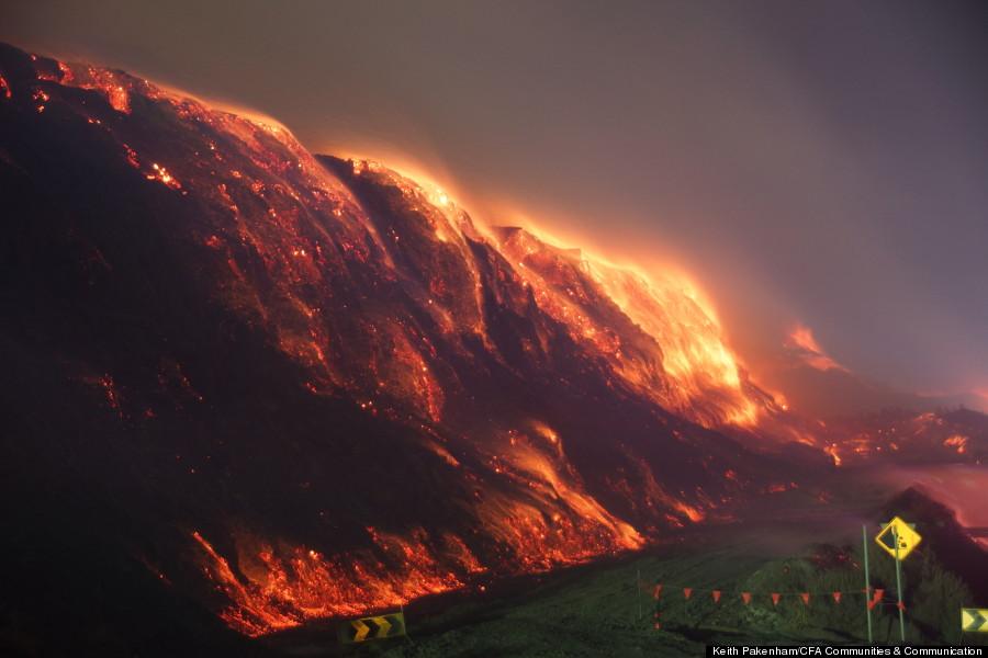 australia coal mine fire 1