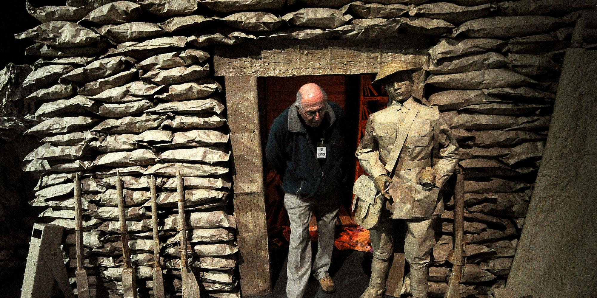 World War 1 Battle Of The Somme Installation In Birmingham