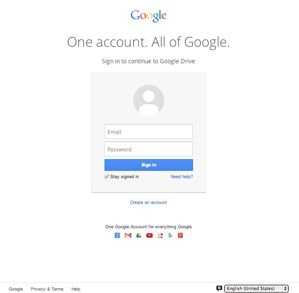 google phishing scam