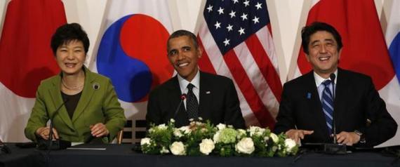 日米韓首脳会談