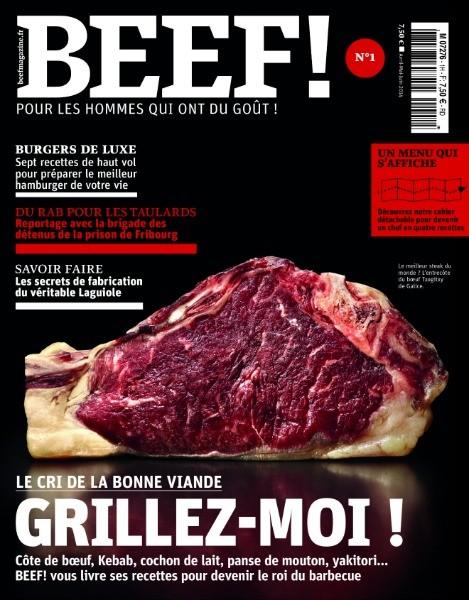 Beef! Pour les hommes qui ont du goût