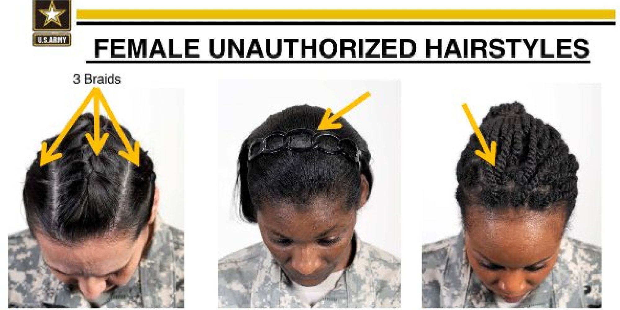 Black Female Soldiers Criticize Armys New Hairstyle Rules