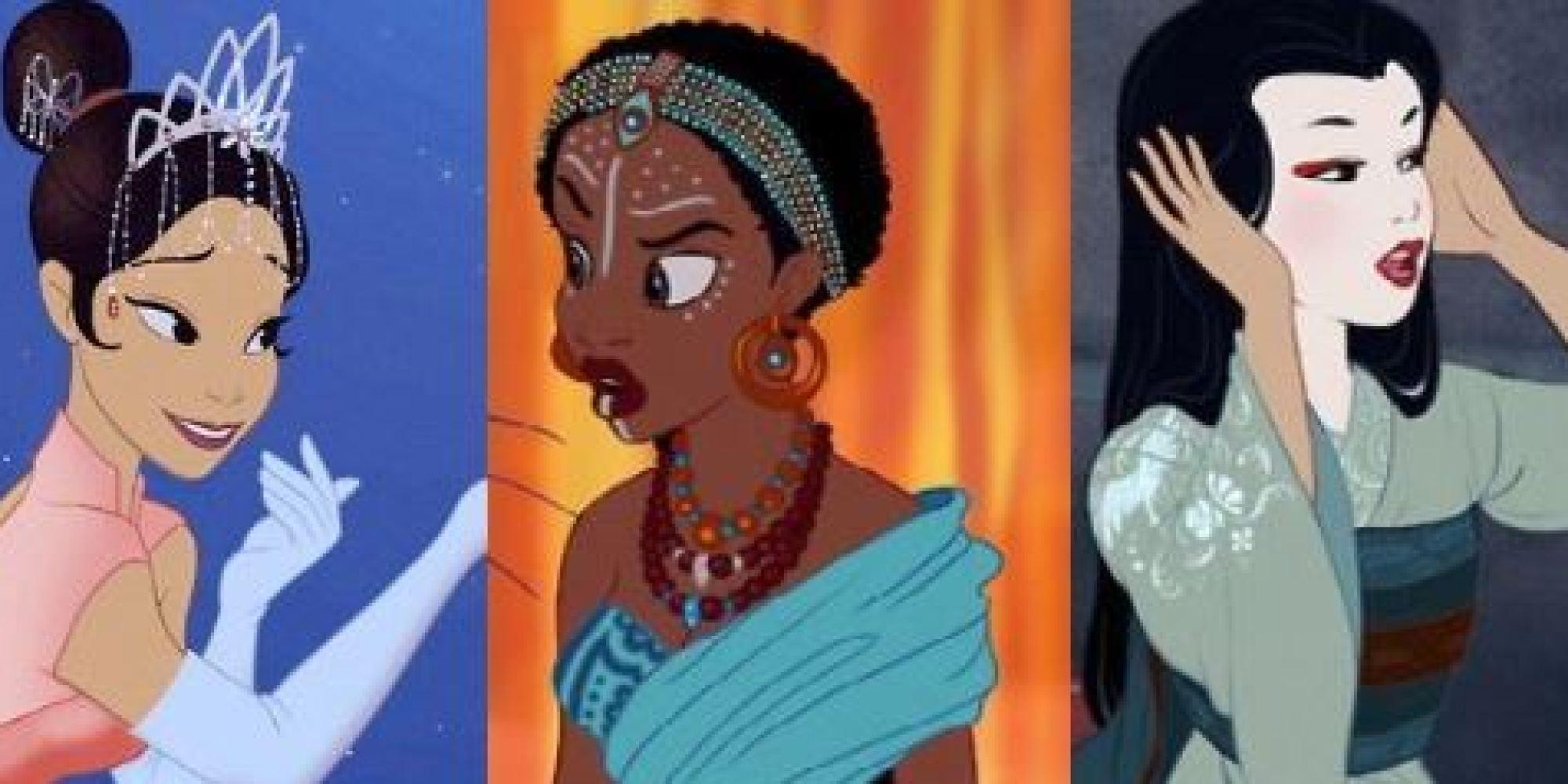 PHOTOS Les Princesses Disney Changent De Couleur De Peau