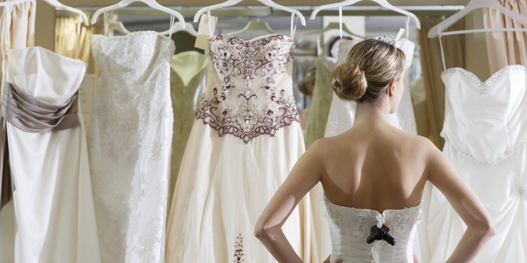 The 15 Worst Things About Shopping For A Wedding Dress