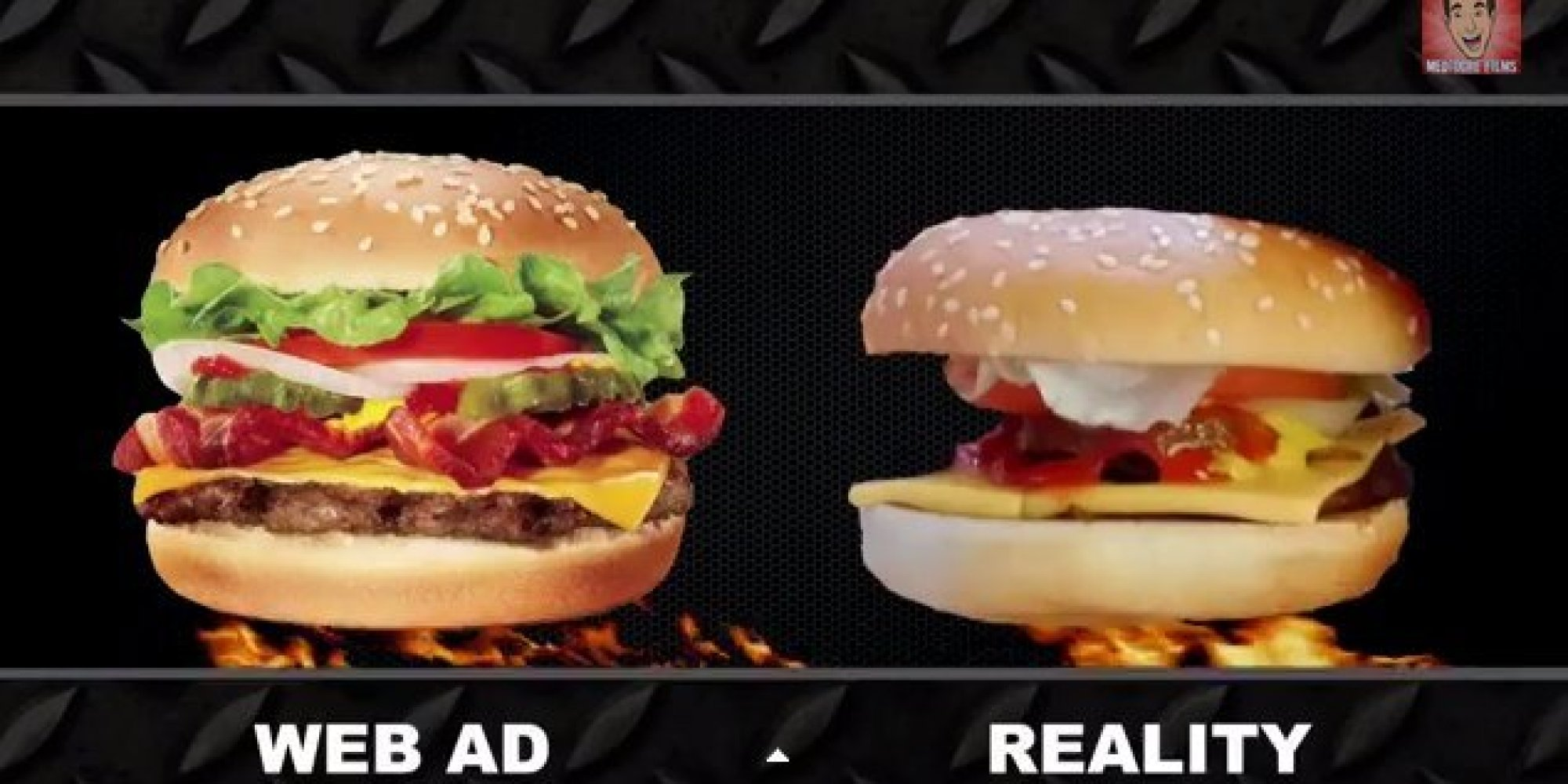 Fast Food Ads Vs Reality Show How Willing We Are To Eat
