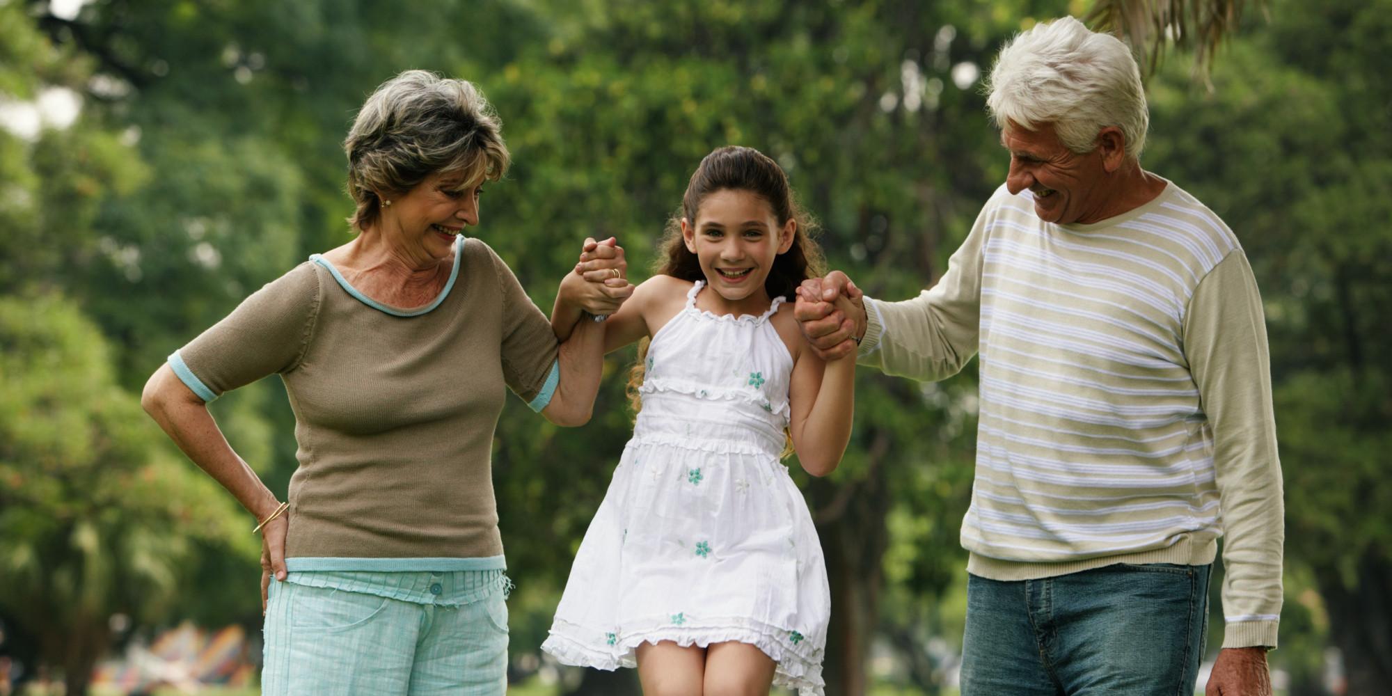 Sleep More Parents Grandparents Are
