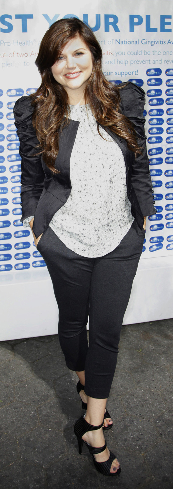 Tiffani Thiessen Laments Last 20 Pounds Of Baby Weight