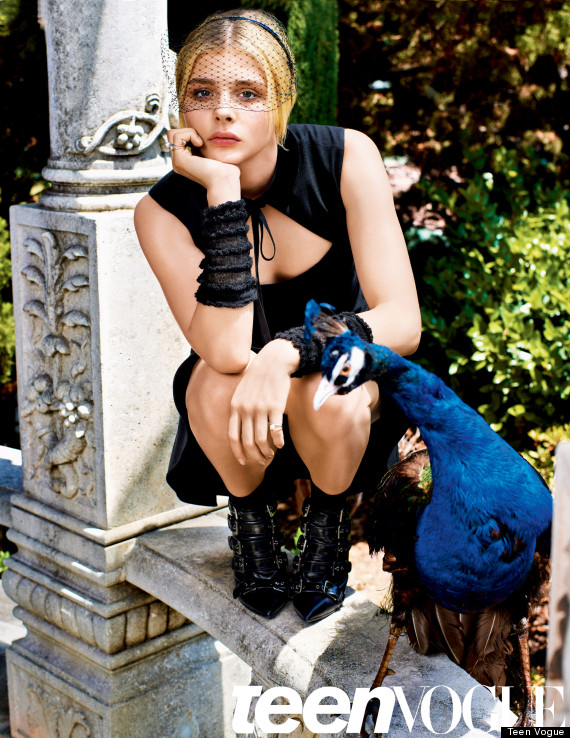 Chlo Grace Moretz Real Teenagers Are Not These Shiny
