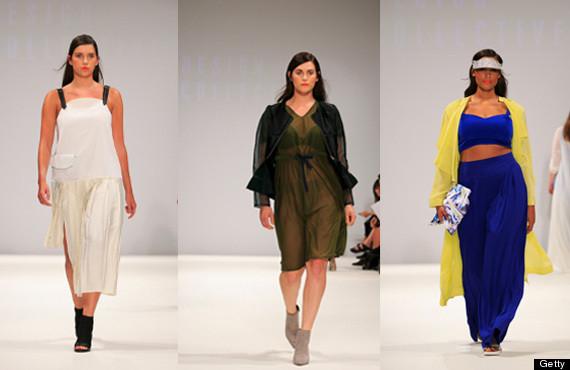 evans fashion show